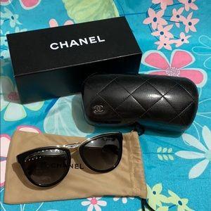 Authentic Polarized Chanel Cat Eye Sunglasses
